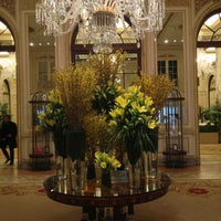 Photo taken at The Plaza Hotel by Garrett P. on 2/25/2013