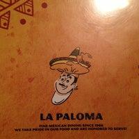 Photo taken at La Paloma by Timothy W. on 8/21/2013