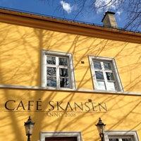 Photo taken at Café Skansen by Christian L. on 4/25/2013