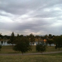 Photo taken at Kiwanis Park by Erika E. on 11/9/2012