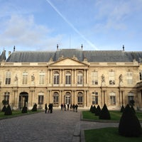 Photo taken at Archives Nationales by Miho on 12/30/2012