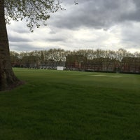 Photo taken at Vincent Square Playing Fields by Emre A. on 5/3/2016