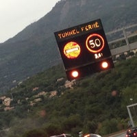 Photo taken at Tunnel de Monaco by Laurent P. on 10/15/2012
