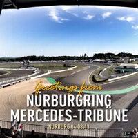 Photo taken at Nürburgring Mercedes-Tribüne by Manuel T. on 8/4/2013