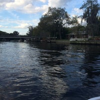 Photo taken at Hillsborough River by Monica T. on 3/8/2015