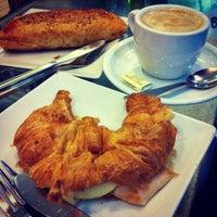 Photo taken at Cafetería Pastelería El Buñuelo by SunUk Y. on 3/23/2013