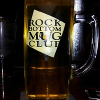 Photo taken at Rock Bottom Brewery by Darrell M. on 4/27/2013