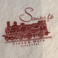 Photo taken at Santa Fe' Steak by Sus K. on 4/26/2014