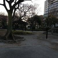 Photo taken at 蒲田一丁目公園 by hideki_go_go on 2/24/2013