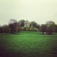 Photo taken at Englischer Garten by Яна З. on 4/27/2013
