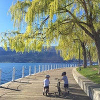 Photo taken at Waterfront Park by Candace M. on 4/17/2015