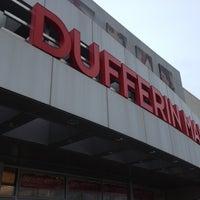 Photo taken at Dufferin Mall by Brendan P. on 12/21/2012