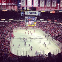 Photo taken at Joe Louis Arena by Manny L. on 4/23/2013