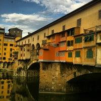 Photo taken at Ponte Vecchio by Luthfi S. on 7/6/2013