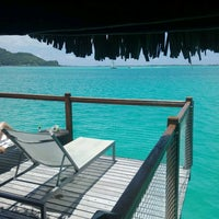 Photo taken at Le Méridien Bora Bora by Ilan R. on 12/30/2016