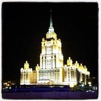 Photo taken at Краснопресненская набережная by Sergey G. on 9/15/2012