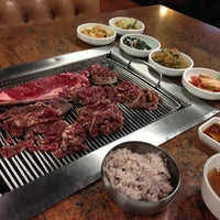 Photo taken at Fresh Korean B.B.Q. by Harry L. on 10/10/2012