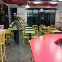 Photo taken at Five Guys by b s. on 9/18/2012