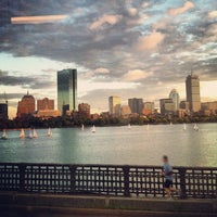 Photo taken at Longfellow Bridge by Spencer S. on 9/21/2012