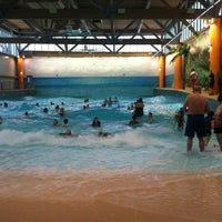 Photo taken at Splash Lagoon by Danielle W. on 1/28/2013