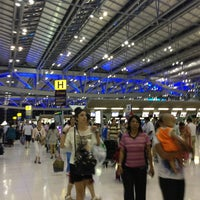 Photo taken at Departures / Check-In Hall by Yaohwa S. on 6/10/2013