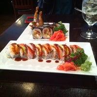 Photo taken at Tasty Thai & Sushi by Logan R. on 12/14/2013