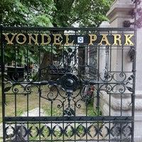 Photo taken at Vondelpark by Clinton H. on 6/16/2013