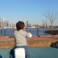 Photo taken at Weehawken Waterfront Park and Recreation Center by Danilo A. on 4/27/2013