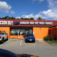 Photo taken at Cook-Out by Morris D. on 10/4/2012
