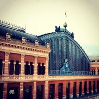 Photo taken at Estación de Madrid-Puerta de Atocha by Tiago R. on 5/8/2013