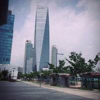 Photo taken at Songdo Convensia by Seyeon Y. on 7/14/2016
