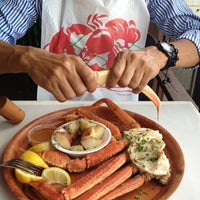 Photo taken at Rustic Inn Seafood Crabhouse by Laura R. on 10/8/2012