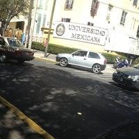 Photo taken at Universidad Mexicana Polanco by Angel O. on 2/20/2013