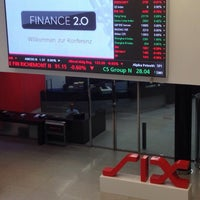 Photo taken at SIX Swiss Exchange by Marc P. B. on 10/8/2013