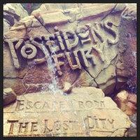 Photo taken at Poseidon's Fury by Nikki T. on 5/20/2013