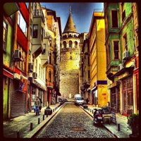 Photo taken at Galata Tower by Gurdal C. on 7/27/2013