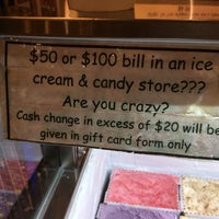 Photo taken at Young's Ice Cream & Candy Bar by Richard B. on 5/7/2014