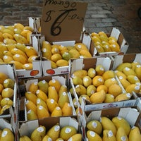 Photo taken at Haymarket Square Farmer's Market by Megan S. on 3/29/2013