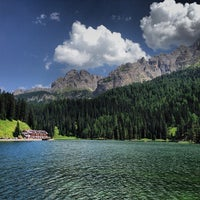 Photo taken at Lago di Misurina by Adrian T. on 8/6/2013