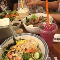 Photo taken at The Salad Concept by ว่างเปล่า อ. on 10/1/2012