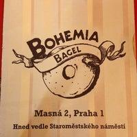 Photo taken at Bohemia Bagel by Tayler T. on 7/19/2013