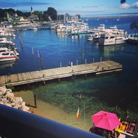 Photo taken at Chippewa Hotel Waterfront by Jaime V. on 8/21/2014