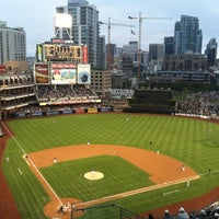 Photo taken at Petco Park by Adrienne G. on 6/29/2014