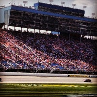 Photo taken at Chicagoland Speedway by Samantha S. on 9/16/2012