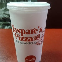 Photo taken at Jaspare's Pizza & Fine Italian Foods by Melissa O. on 5/29/2013