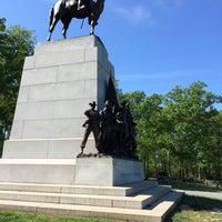 Photo taken at Virginia Monument, Gettysburg Battlefield by Jeanie B. on 5/16/2016