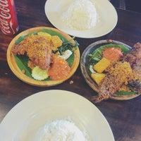 Photo taken at Restoran Ayam Penyet- AP by Pika F. on 7/28/2016