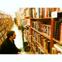 Photo taken at Mercer Street Books by Josh R. on 2/15/2014