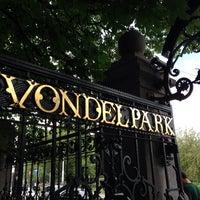 Photo taken at Vondelpark by Bruno W. on 6/23/2013