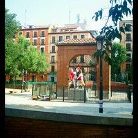 Photo taken at Plaza del Dos de Mayo by Sandrina G. on 7/17/2013